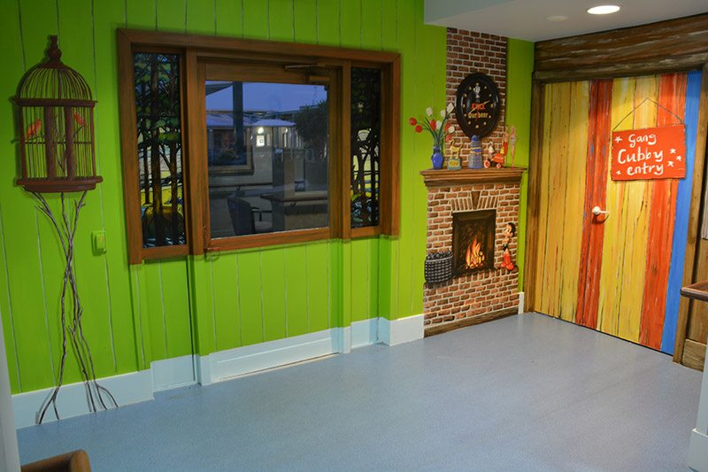 Blue Care Rothwell. Aged Care Facility renovations using art