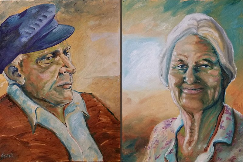 Adult & Elderly Portrait commissions