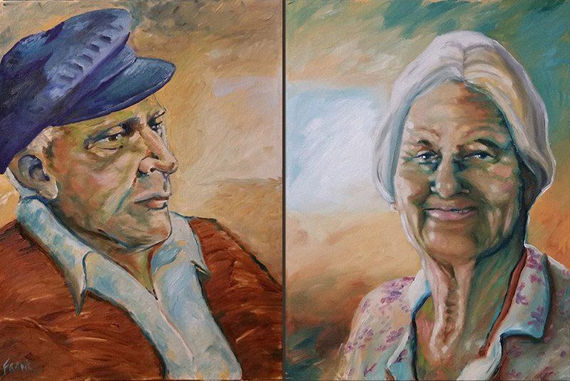 Adult & Elderly Portrait commissions