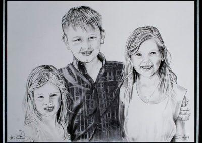 kids portraits commissions