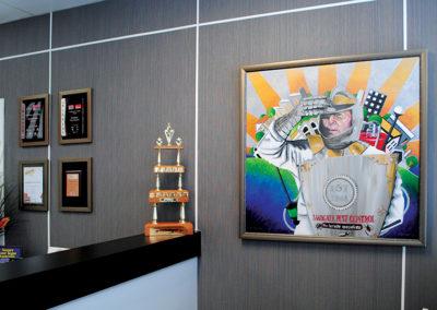 corporate-decor and brand artwpork