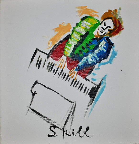 artwork about skill