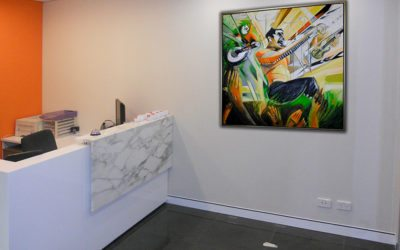 R & G Consulting, Sydney. Corporate art with Colour Psychology