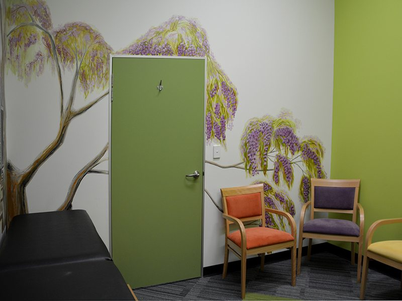 doctor's surgery mural