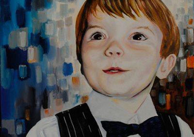 your childs portrait