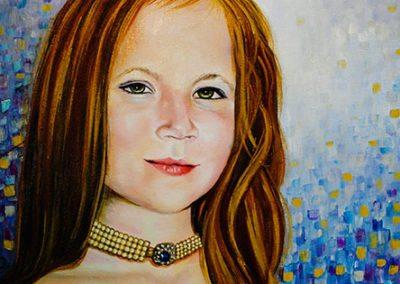 commission child portrait