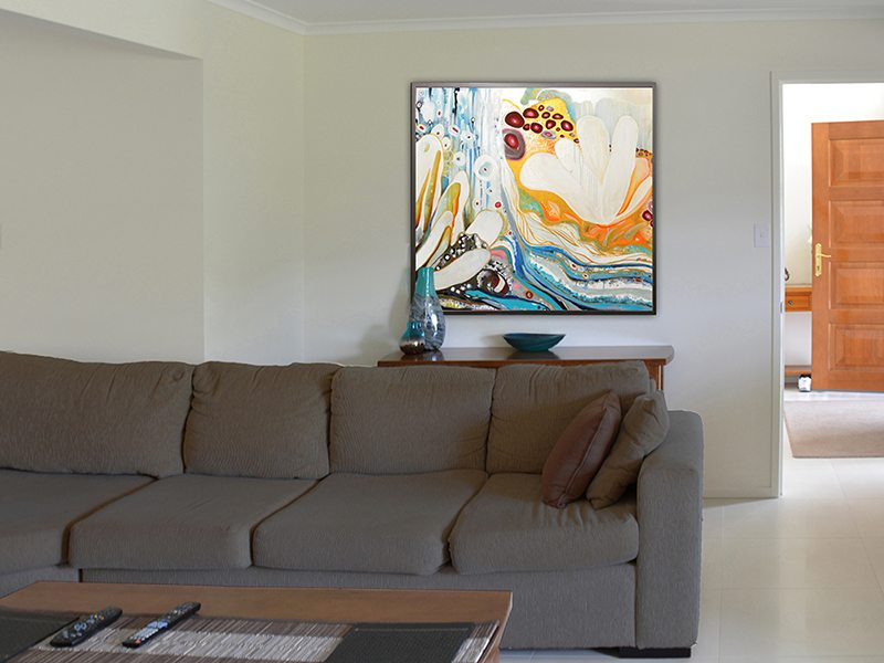 abstract art commission