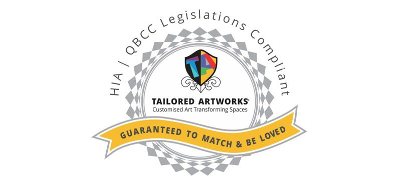 Art with a Guarantee to Match and Be Loved - HIA Compliant