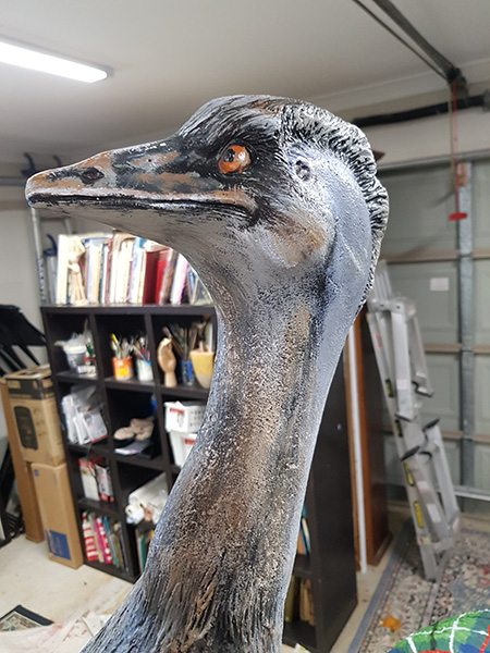 Painted Fibreglass Animals by Tailored Artworks
