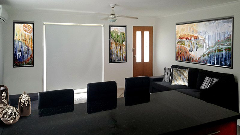 How immigrants can tell their story and fix their space with Australian artwork theming.