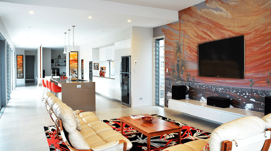 art Living room interior design