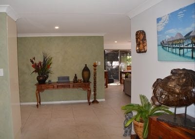 plantation style foyer