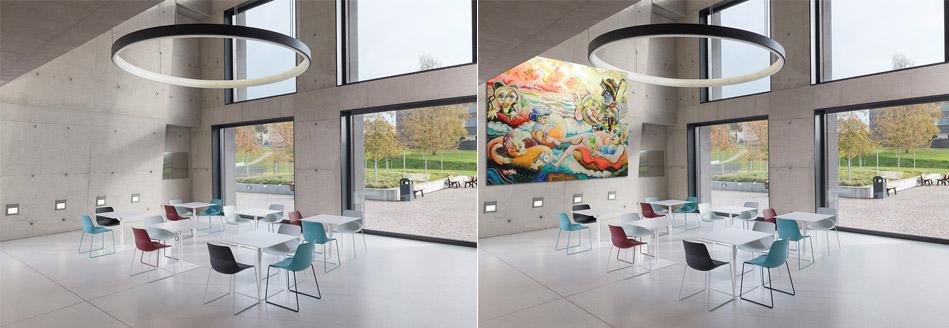 hospitality artwork commissions