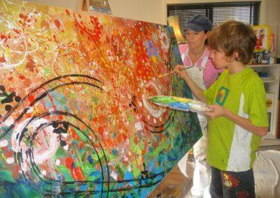 personal kids art class