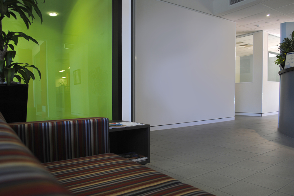 office before corporate foyer art