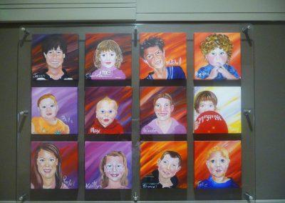 children-face-portrait-shopping-centre-by-Sharron-Tancred-@-TailoredArtworks