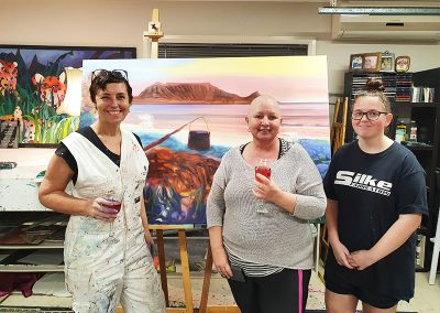 family-art-workshop-with-Sharron-Tancred-@-TailoredArtworks