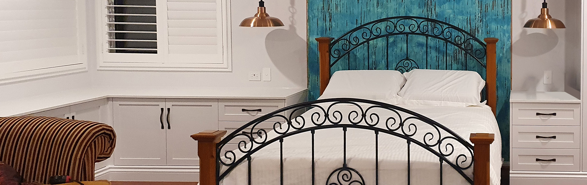 custom textured features for bedrooms
