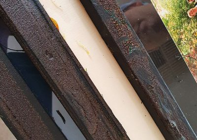 iron and rust photo frames