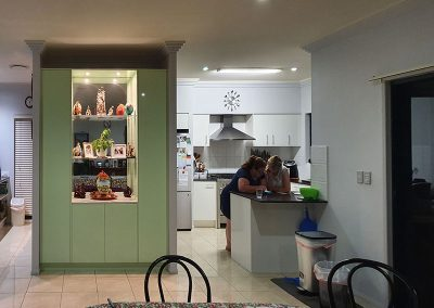 before unique cabinetry design