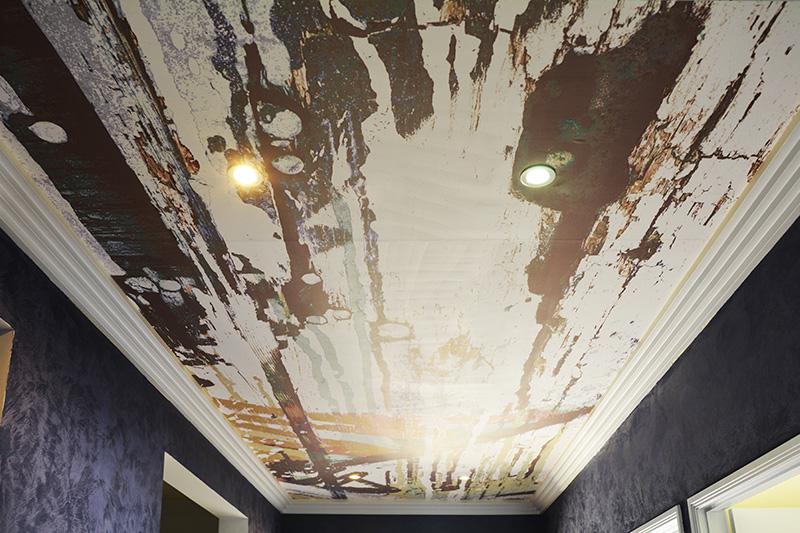 custom ceiling mural