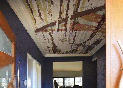ceiling mural for foyer
